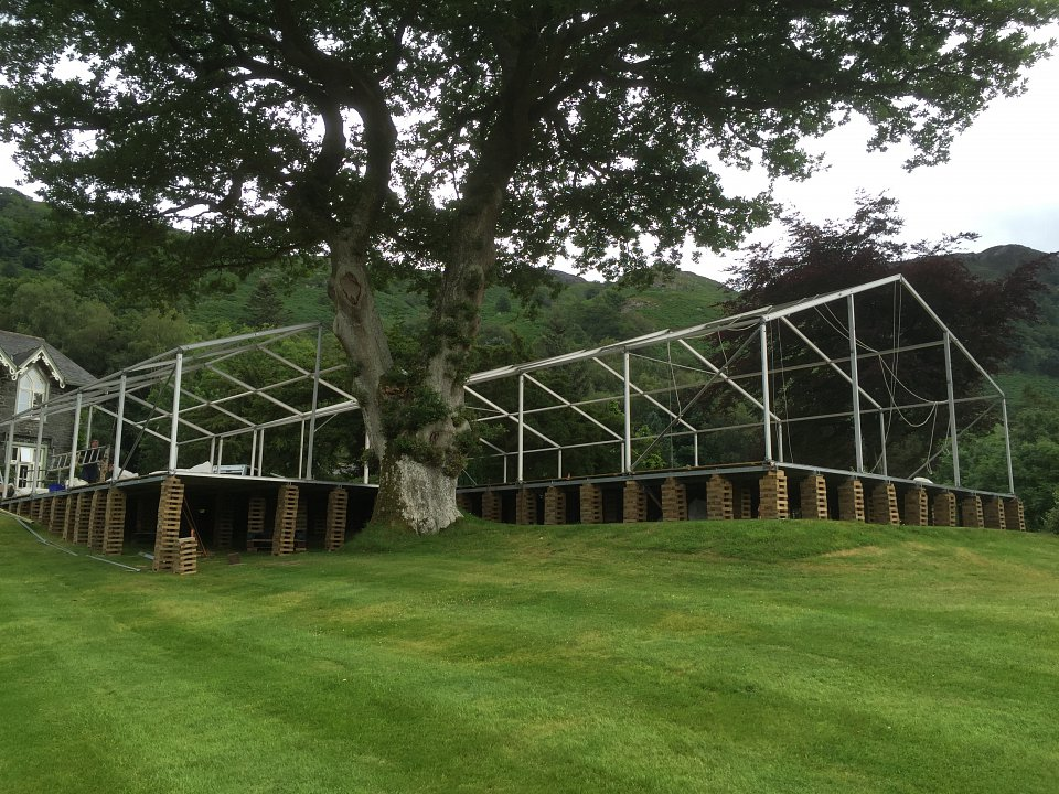 Marquee Hire Cumbria Bakerwood Marquees And Events Flooring System